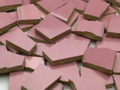 Pink Irregular Shaped Ceramic Tiles
