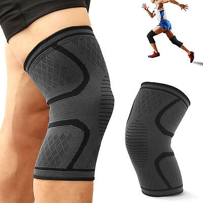 Double Metal Hinged Knee Brace Support Compression Sleeves Regular, Large & XL