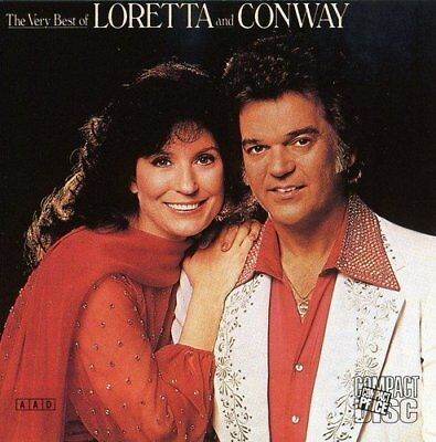 Loretta Lynn And Conway Twitty - The Very Best Of - Cd - New