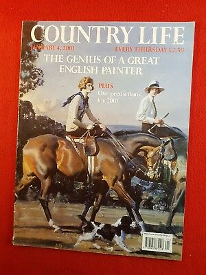 COUNTRY LIFE Magazine : 4th January 2001