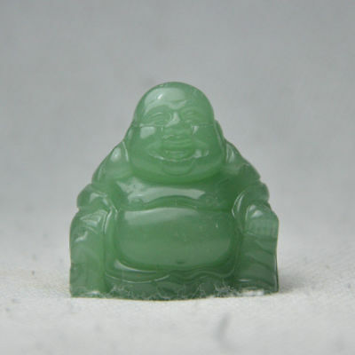 1.5-inch high hand-carved natural Dongling jade Buddha ornaments