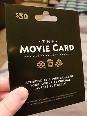 The Movie Card Voucher $50 Value