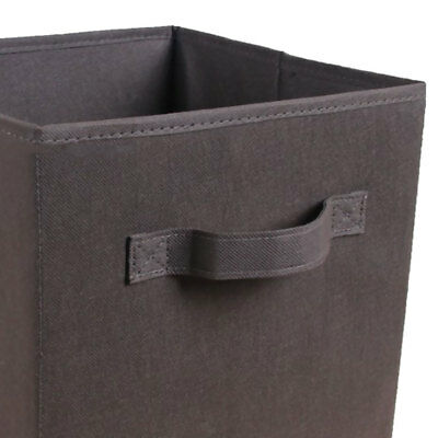 Fabric Foldable Storage Cubes Cubby Organizer Box Bin Basket Container