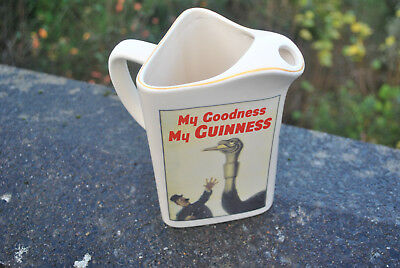 An Official Numbered Guinness Beer Jug,with picture and slogan 'My Goodness' etc