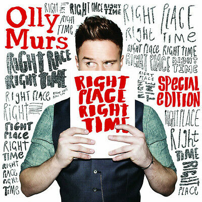 OLLY MURS Right Place Right Time (2013) Special Edition CD + DVD BRAND NEW