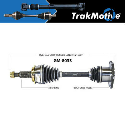 FRONT LEFT CV Axle Shaft For CHEVROLET SILVERADO 1500