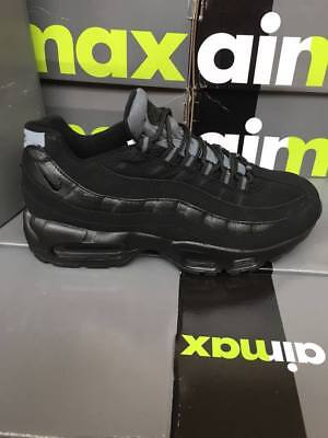 MENS NIKE AIR Max 95 OG Black & Grey Trainers Brand New Size