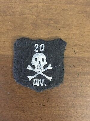 Reproduction WWI US Army patch 20th Division Patch -  AEF