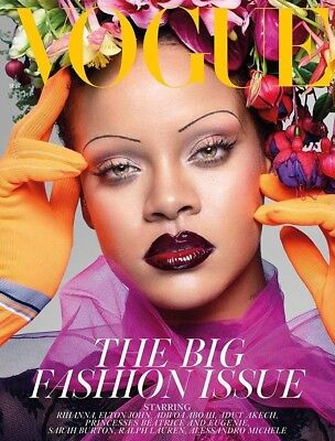Vogue UK September 2018 Rihanna The Big Fashion Issue! Brand New Copy
