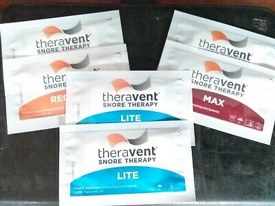 Theravent - Snore Therapy Strips - Trial Pack 6 Count - Stop Snoring! 1/20