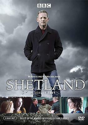 Shetland: The Fourth Season 4 Four (DVD, 2018, 2-Disc Set) NEW, US Seller