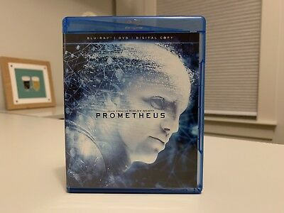 Prometheus (Blu-ray/DVD + Digital) LIKE NEW