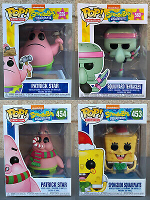 Funko POP! Animation: Spongebob Squarepants (Variation Listing)