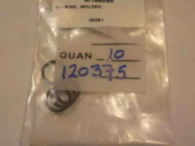 """36116 Old-Stock, Nordson 120375A Lot-5 O Ring 9/16""""OD"""