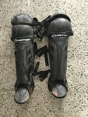 Easton Catchers Leg Guards Adults