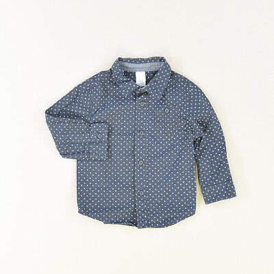 Camisa color Azul marca Baby Club 18 Meses  522274