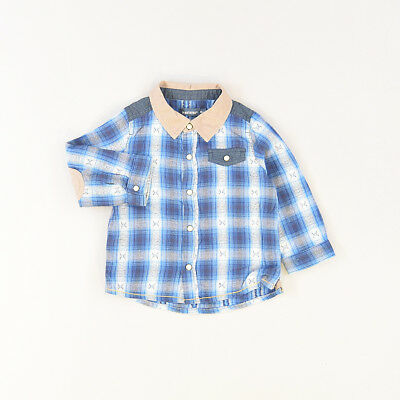 Camisa color Azul marca In Extenso 12 Meses  522306