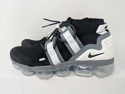 ef50833947f2 NIKE AIR VAPORMAX Flyknit Utility Black cool Grey-White Mns.sz.7.5 ...