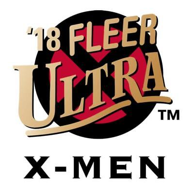 2018 Fleer Ultra X-Men Red Foil Artist Autograph and Comic Panels Pick From List