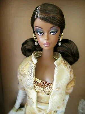 Golden Gala  Silkstone Barbie~ African American- 2009 Convention~ NRFB  LE 600