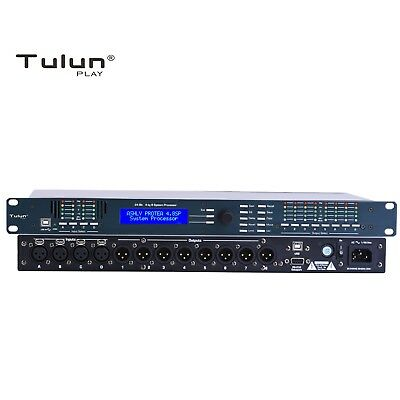 4.8SP 4in 8out Sound Audio Processor Loudspeaker Management DSP Crossover