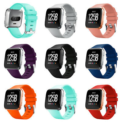 Silicone Sport Wristband Strap Replacement Belt for Fitbit Versa Smart Watch