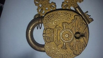 Collectible/antique padlock with keys