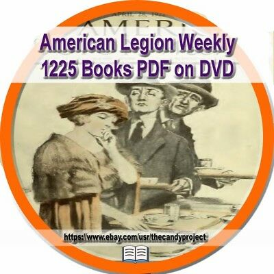 1225 Books American Legion Weekly 2 DVDs Launched on July 4, 1919