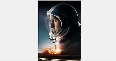 Y-1990 First Man Movie 27x40 24x36 Hot Poster Damien Chazelle Ryan Gosling