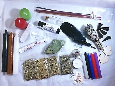 Pagan wicca witchcraft starter kit for beginners wicca supplies altar tools