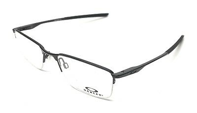c5aa227bbd8 New Oakley Ox 3218 0152 Polished Black Eyeglasses Authentic Frame 52-18  W case