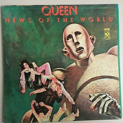 Queen - News of the world - VENEZUELA - gatefold sleeve with additional print