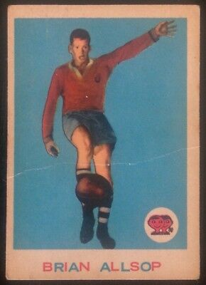 Scanlens 1964 Rugby League # 3 B.allsop Vg/excellent Trading Card Easts Roosters