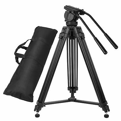 Zomei VT666 Pro Heavy-duty Camera Tripod with Fluid Pan Head for Camcorder Video