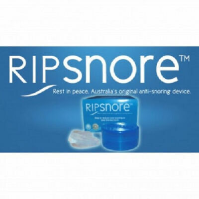 Ripsnore Anti Snoring Device Mouth Guard Twin Pack