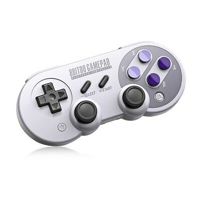 8Bitdo SN30 Pro Wireless Bluetooth Controller with Classic Joystick Gamepad for