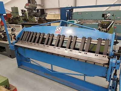 Used Mach - Fold 2500 x 2mm box and  pan folder