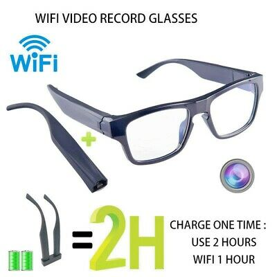 ViView G50H Plus Camera Glasses  -WiFi - Long 2 Hours Hands-Free HD Recording