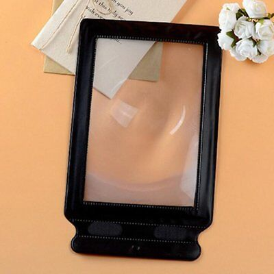 A4 Size Magnifier Sheet Magnifying Reading Aid Large Flat Page PREMIUM Quality