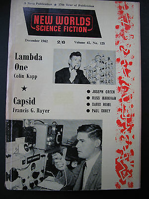 UK Magazine - NEW WORLDS SCIENCE FICTION No.125, Dec 1962