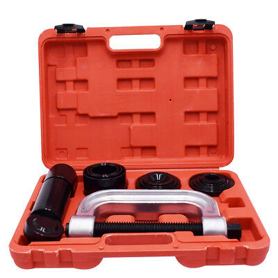 4 in 1 Heavy Duty Ball Joint Press & U Joint Removal Tool Kit Adapters for 2WD