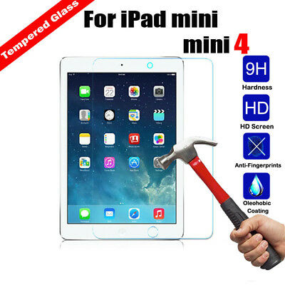 Genuine Tablet Tempered Glass Screen Protector Cover Film For Apple iPad  mini 4
