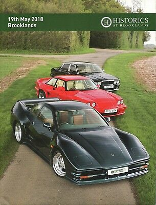 Historics Classic Car Auction Catalogue - Brooklands 19/5/18
