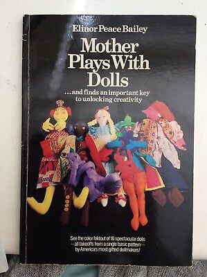 Mother Plays With Dolls - Elinor Peace Bailey