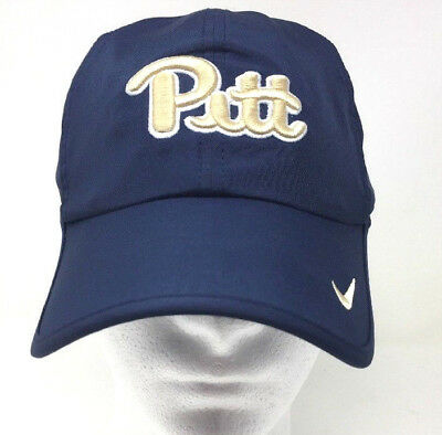 7b4e2c12707 ... authentic nike university of pittsburgh panthers featherlight dri fit  running hat cap n1a 6aaf0 69ab8