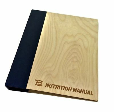 TB12 Nutrition Manual Cookbook Recipe Book CD/PDF copy.  SOLD OUT ONLINE