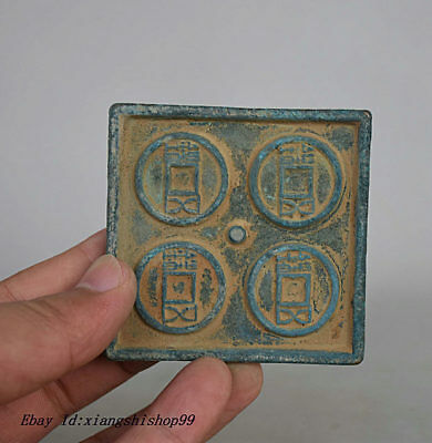 68MM Chinese Dynasty Palace Bronze outdated casting Copper Money Coin mould
