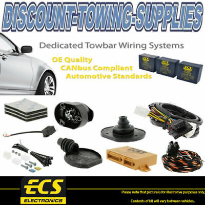 ECS 13 Pin Towbar Caravan Wiring Kit For FIAT Ulysse MPV 2007 >