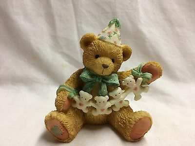 Cherished Teddies,Age 4- Unfolding Happy Wishes For you