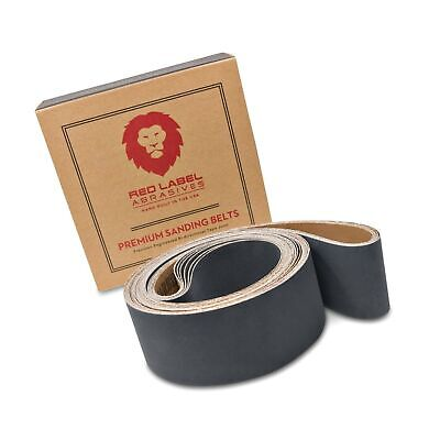2 X 72 Inch Silicon Carbide Extra Fine Grit Sanding Belts 600, 800, 1000 Grit...